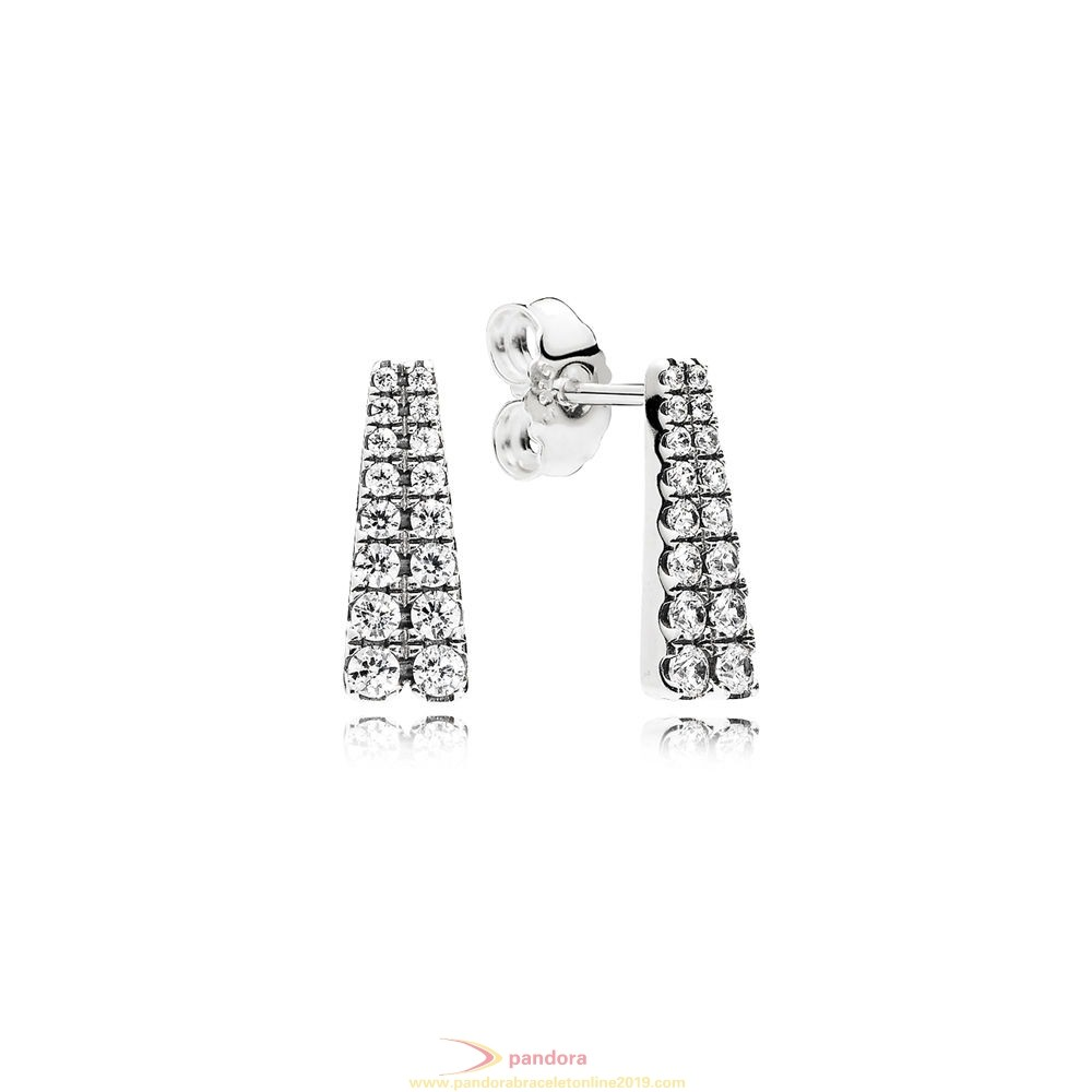 Find Pandora Jewelry Pandora Winter Collection Shooting Stars Stud Earrings Clear Cz